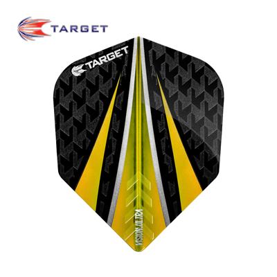Target Dart Flight Set  Ultra Vision gelb